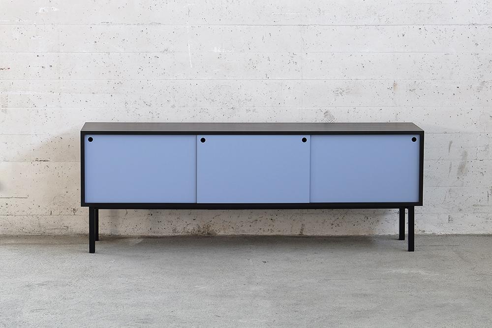 sideboard schwarz great woud virka lowboard with. Black Bedroom Furniture Sets. Home Design Ideas