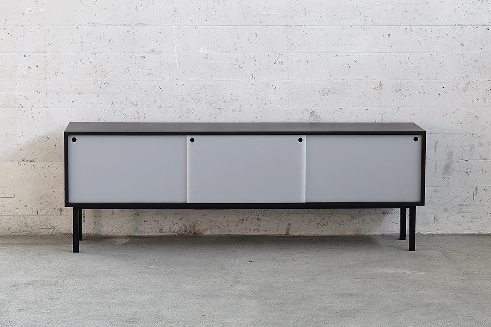 meuble bas westquai. Black Bedroom Furniture Sets. Home Design Ideas